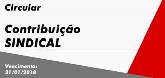 CONTRIBUIÇÃO SINDICAL PATRONAL 2018